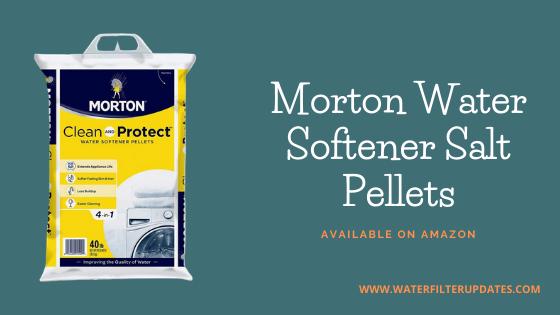 Morton Water Softener Salt