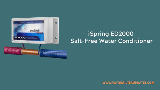iSpring ED2000 Salt-Free Electronic Water Softener