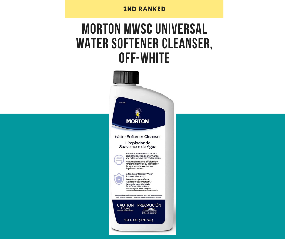 Morton MWSC Universal Water Softener Cleanser, Off-White reviews