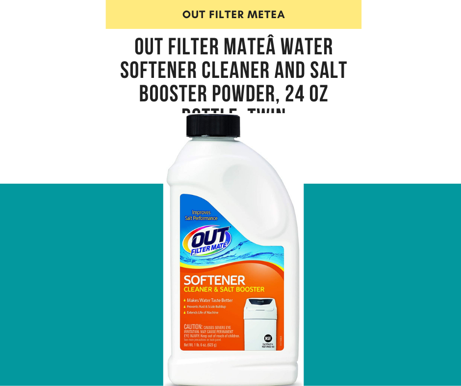 OUT Filter Mate Water Softener Cleaner and Salt Booster Powder, 24 oz Bottle, Twin review