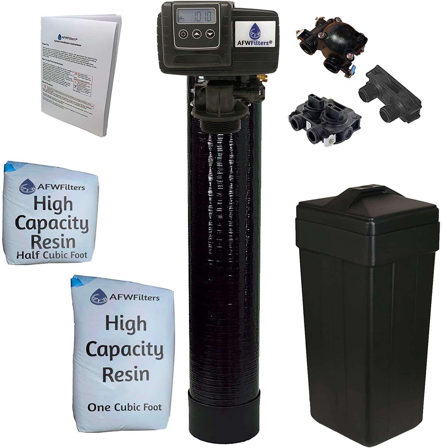 AFWFilters 5600SXT Water Softener for Well Water