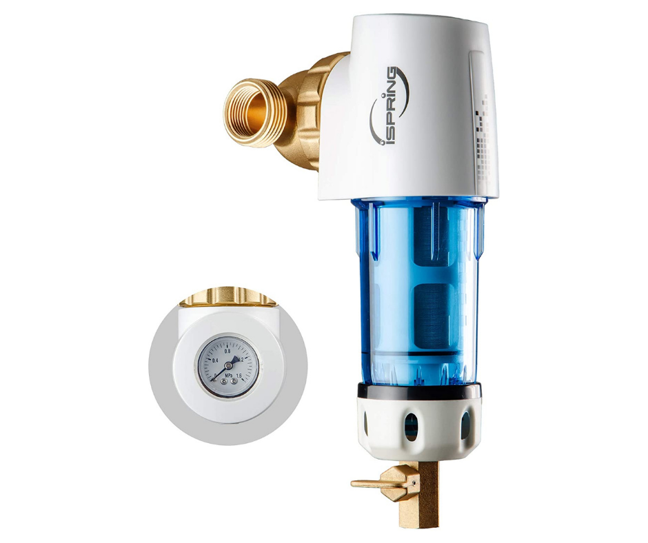 iSpring WSP50GR Reusable Spin Down Sediment Water Filter